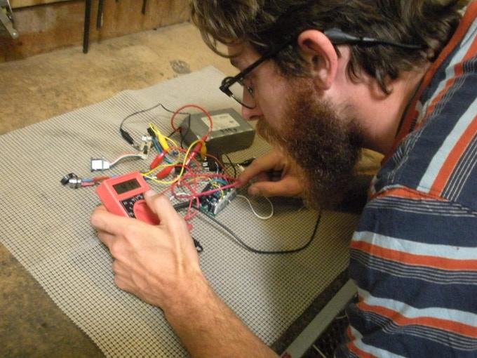 Shawn testing motor controller