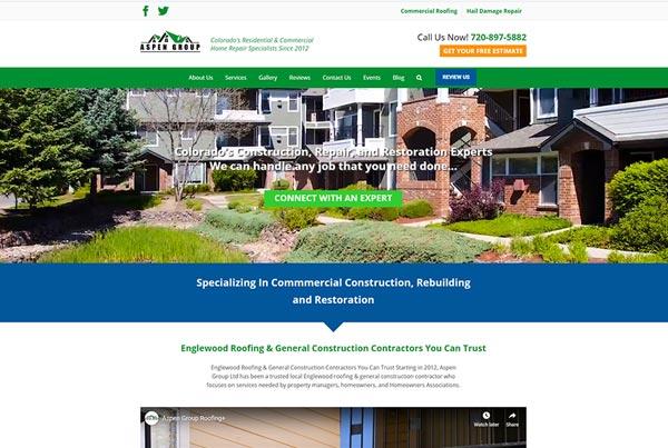 The Aspen Group website