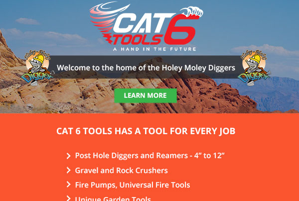 Cat 6 Tools Landing Page