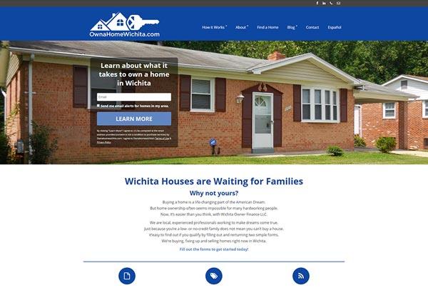 Own A Home Wichita Website