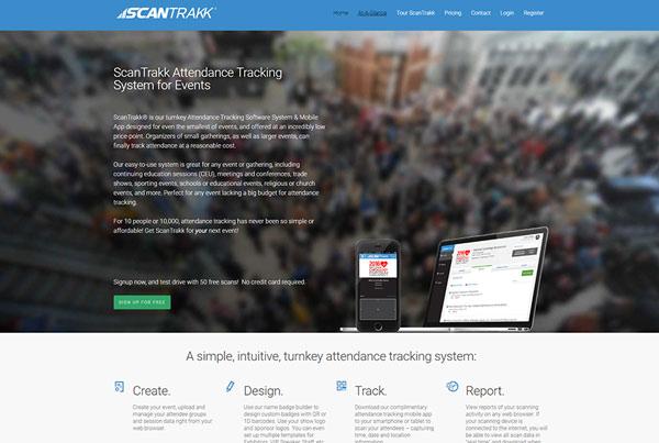 Scanntrakk Website